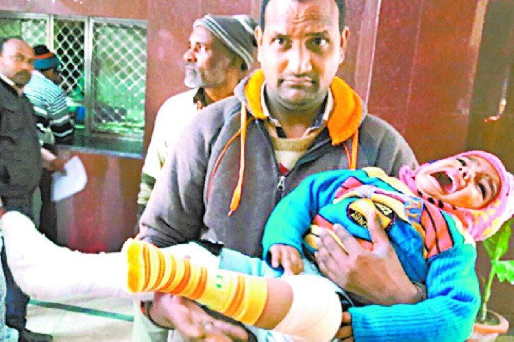 carelessness of doctors and staff in barabanki district hospital