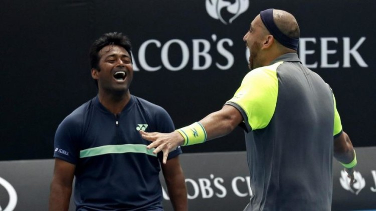 Leander Paes and Purav Raja qualified for third round of austrailian open