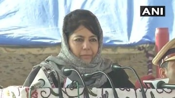 CM Mehbooba Mufti says at passing out parade of Police constables J&K Police has the toughest work