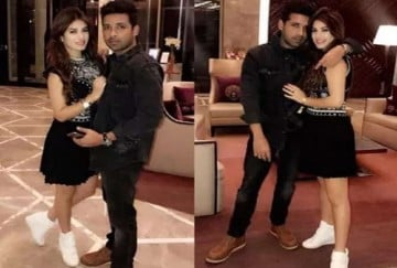 Bigg Boss contestants puneesh and bandgi seen in party together