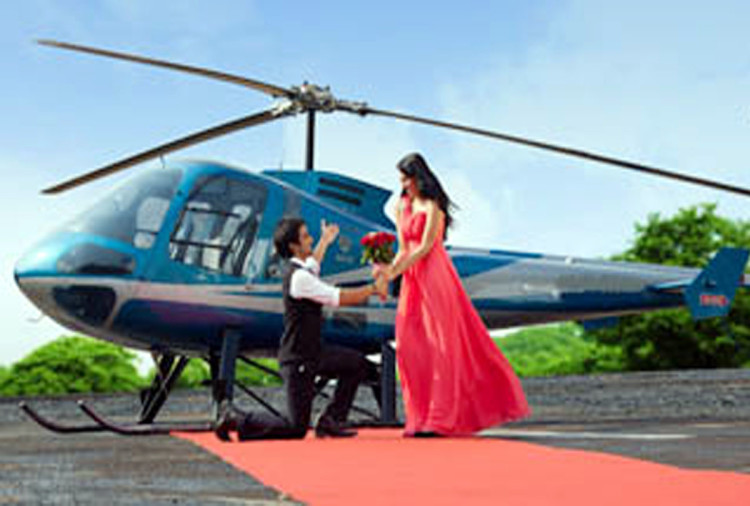 if you have a girlfriend then take helicopter ride