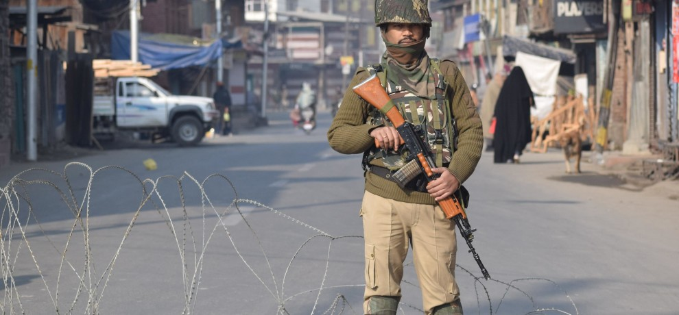 restriction in Old City of Srinagar, article 144 in 7 police station