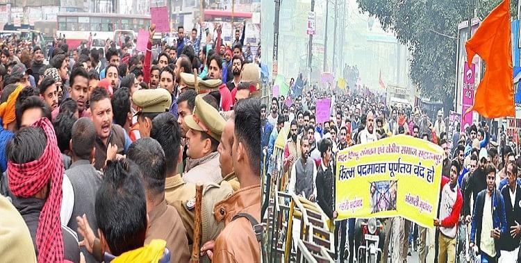 Image result for police in delhi cinema hall at padmavat