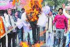 Protest against Padmavat