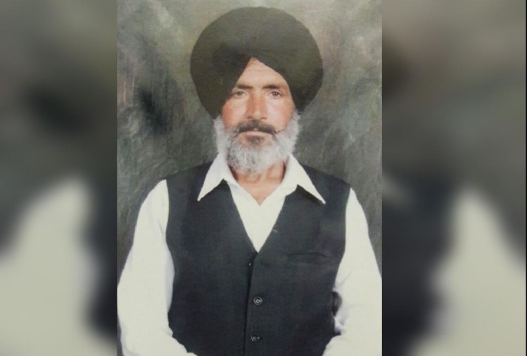 62 yr old jeet singh killed in a road accident in derabassi