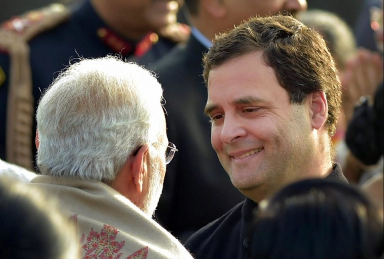 Congress President Rahul gandhi take a jibe at Pm narendra Modi over rafale deal