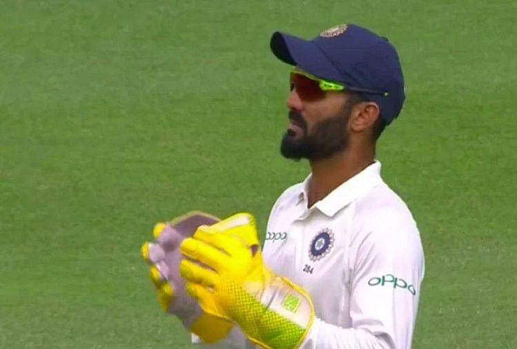 Image result for wicket keeper dinesh karthik in test team