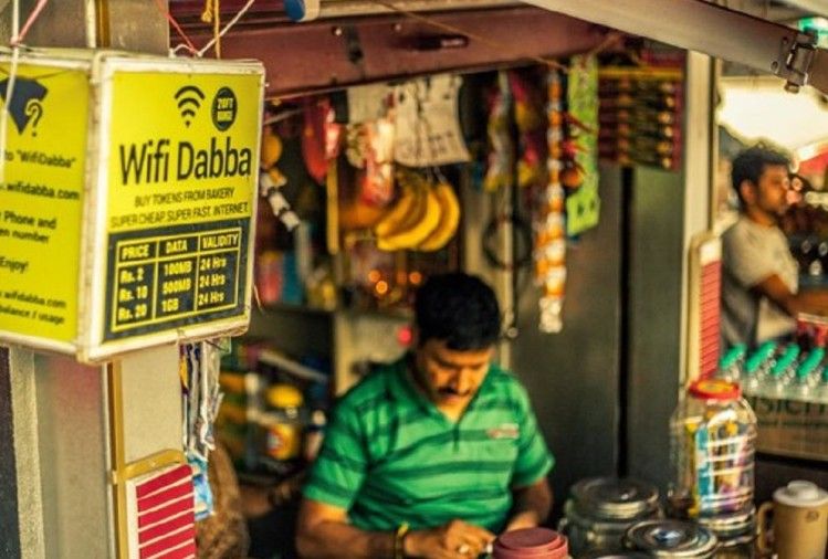 startups offering cheap internet service through tea stalls and kirana stores