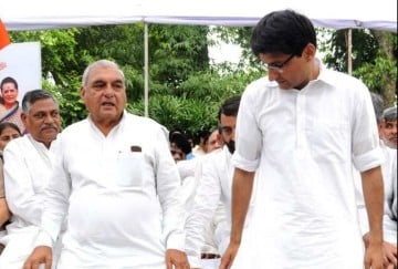 Bhupinder Singh Hooda chargesheeted by the CBI