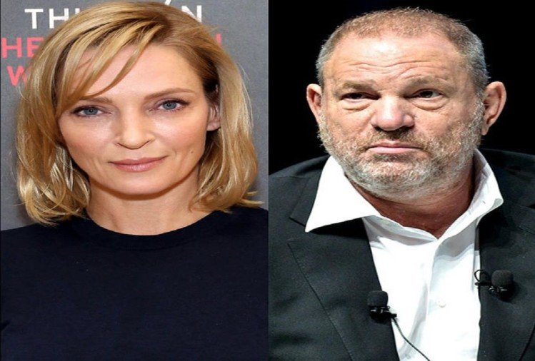 hollywood actress uma thurman told harvey weinsten sexually assualted her in steam room
