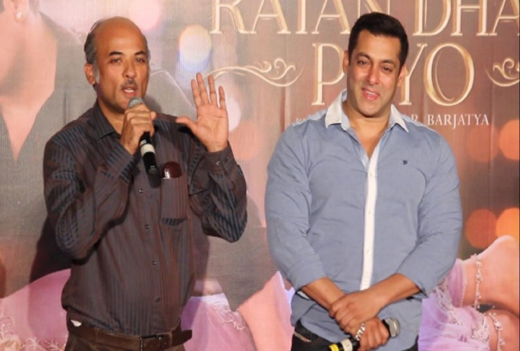 Salman and Sooraj Barjatya-back to bollywood