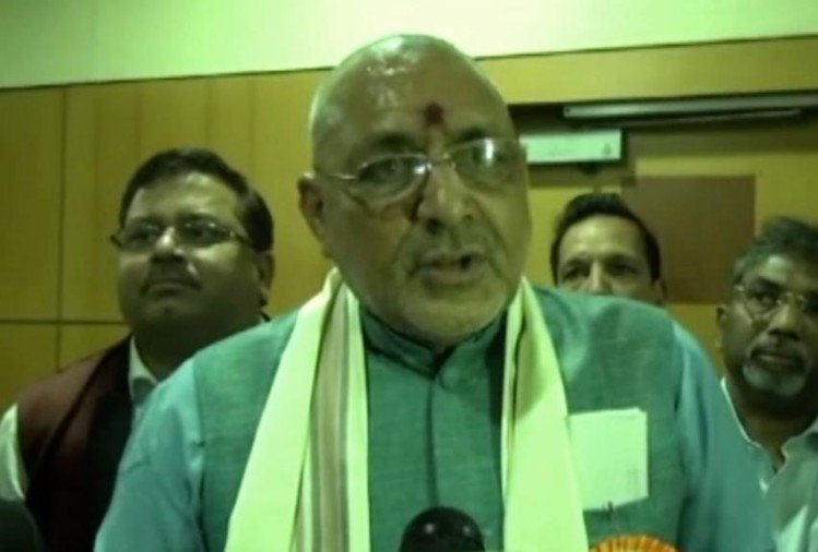 FIR lodged against Union Minister Giriraj Singh in Danapur land grabbing case