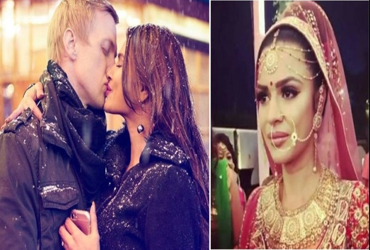 Actress Aashka Goradia husband Brent posts romantic picture with wife