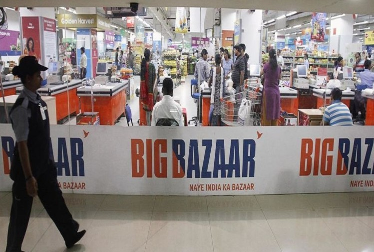 amazon or alibaba can buy big bazaar as kishore biyani kicks off speculation