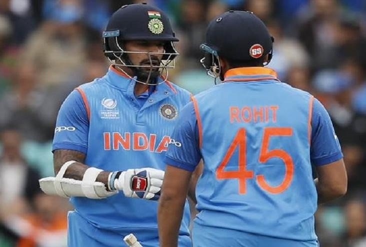 ind v sa : Nothing to Worry About Rohit Sharma's Form says shikhar dhawan