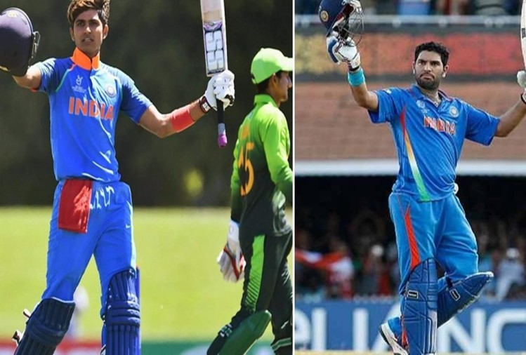 yuvraj singhs tips helps Shubman Gill for World Cup Success
