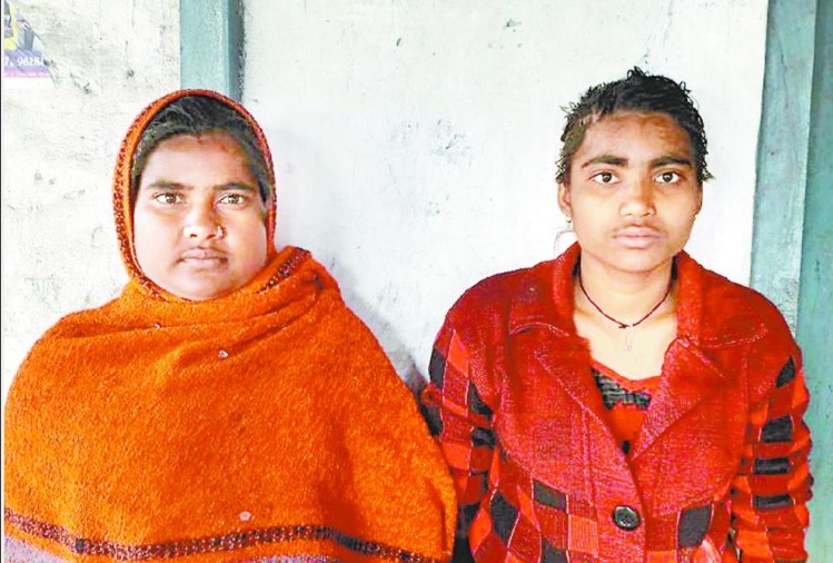 two sisters attacked on goons in gonda.