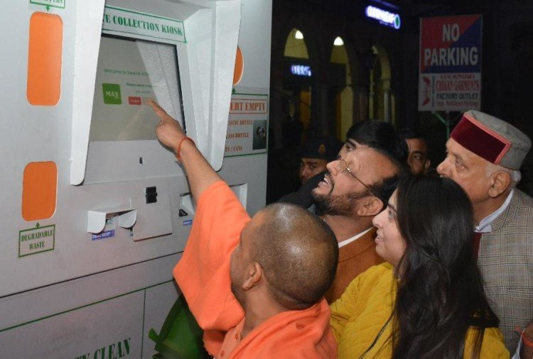 swach atm to be put on two places in lucknow.