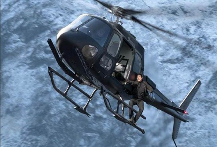 hollywood actor tom cruise real helicopter stunt in film fallout