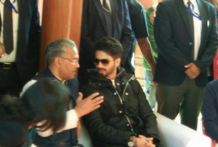 Shahid kapoor shocked to hear about parilok in uttarakhand