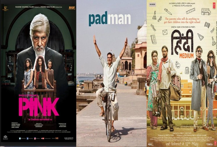 before padman these five film which are based also on social issue