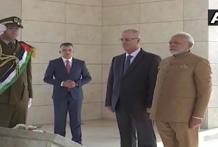 Historic Visit of PM Narendra Modi in Middle East Palestine, jorden and abudhabi