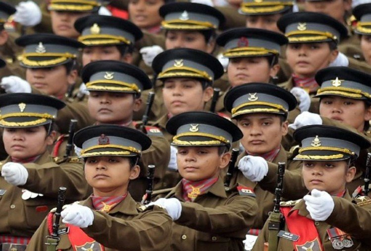4 women soldiers got medals in indian armed forces