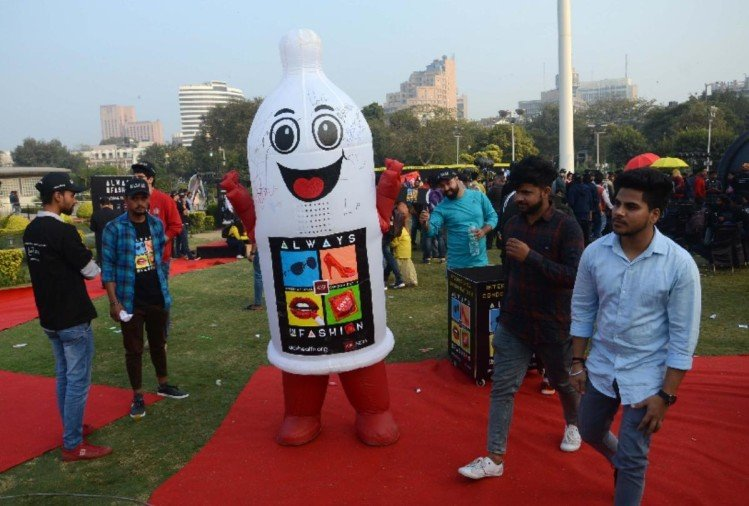 view pics of condom day celebration at cp