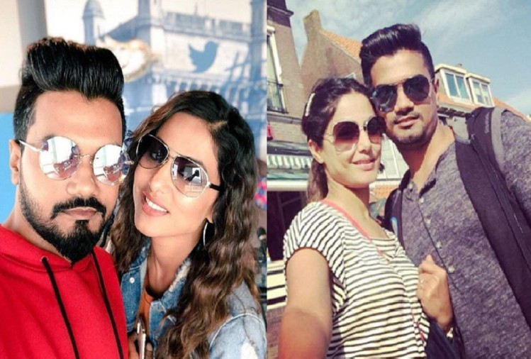 Hina Khan will celebrate Valentines day with Rocky Jaiswal at foreign