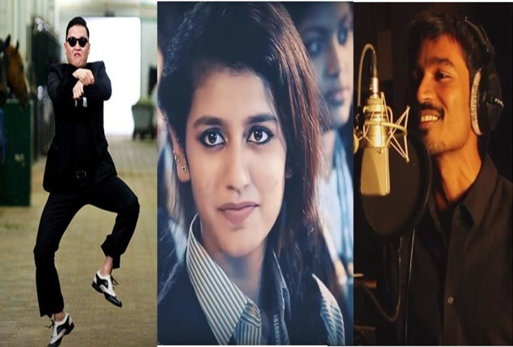 Not Only Priya Prakash but these 5 songs also went viral on internet