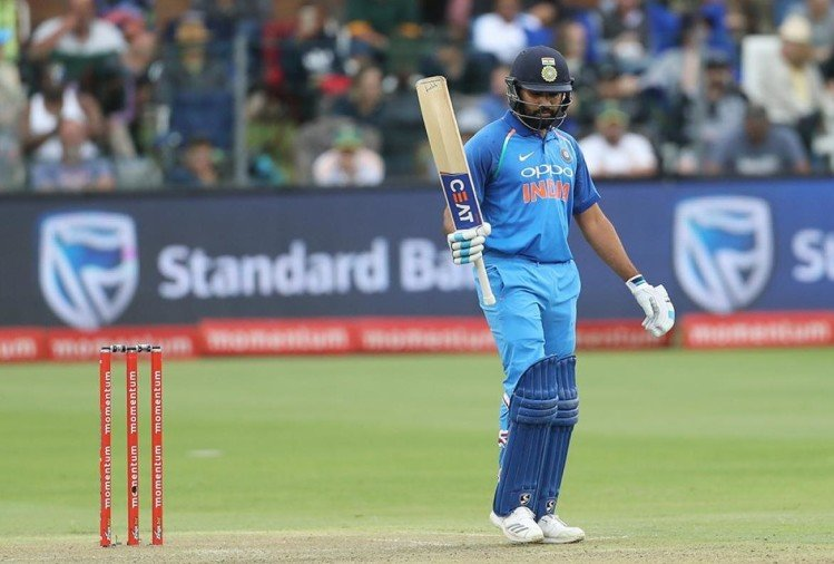 india vs south africa fifth odi rohit sharma breaks sachin's sixes record