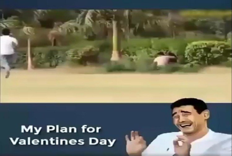 Prank video being viral on social media just before Valentines Day