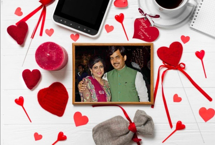 valentines day special: shahnawaz hussain and renu hussain love story