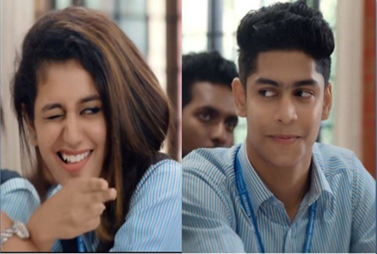 priya prakash varrier video song images controversy