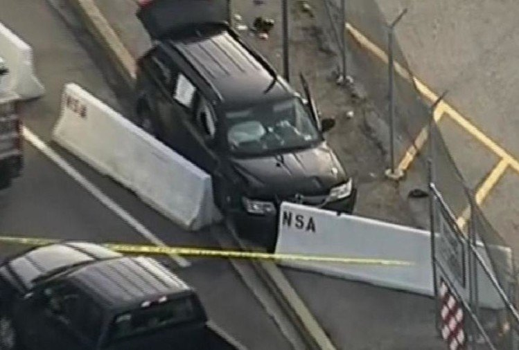 America: Shooting Outside NSA Headquarters and one person arrested