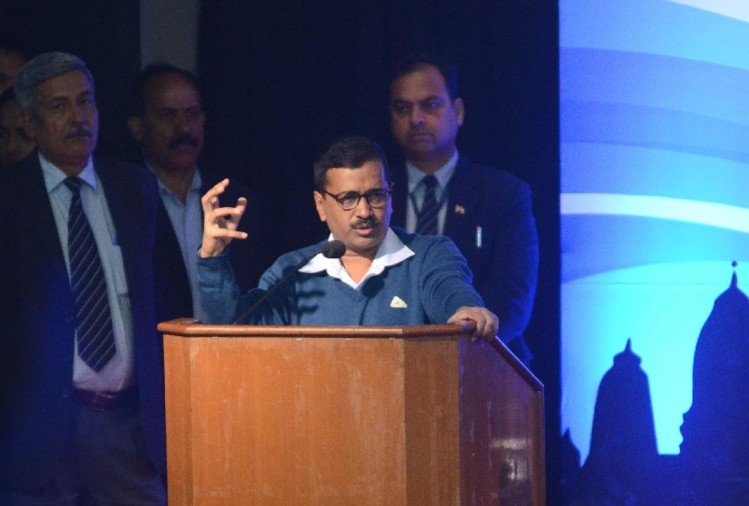 three years of kejriwal: in his one hour long speech kejriwal not even once utter word modi