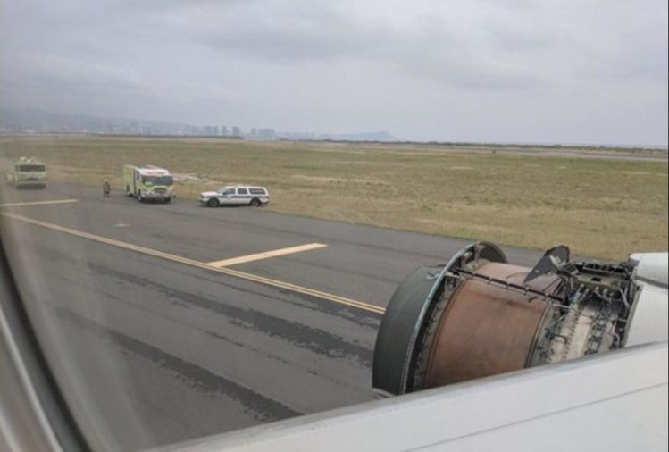 Google engineer share some picture of plane during engine falling