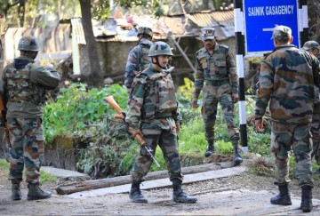 infiltration attempt foiled by army in rajouri and poonch area jammu and kashmir
