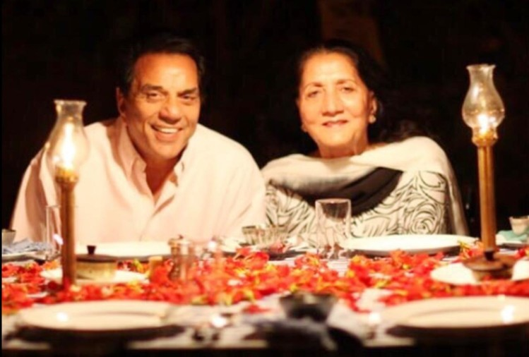 dharmendra celebrate valentines day with his first wife prakash kaur