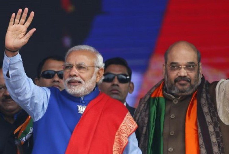 Pm modi and amit shah campaign ahead of assembly and lok sabha elections