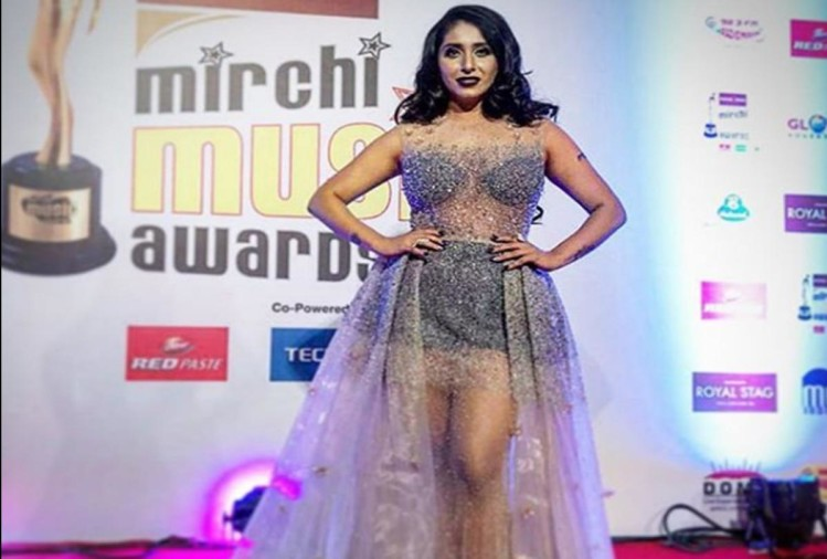 Neha Bhasin has trolled for Transparent Dress
