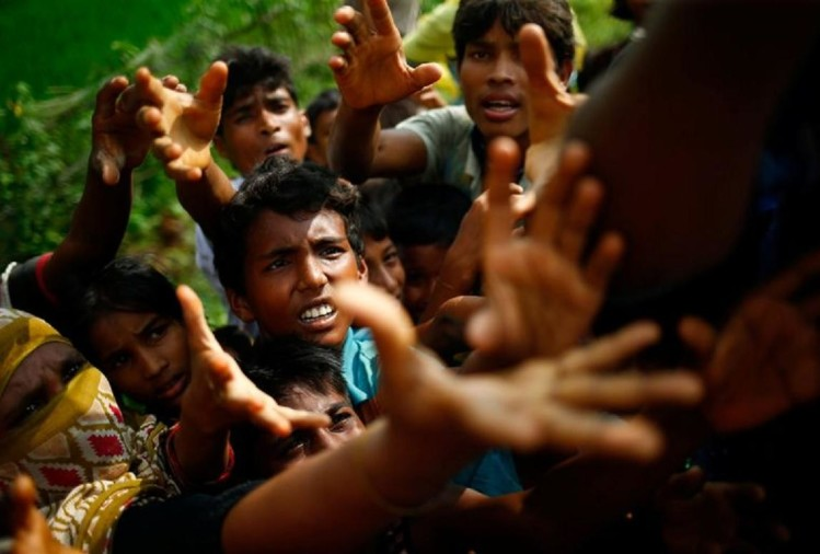 Rohingyas returned from Bangladesh to home Myanmar, 508 Hindus and 750 Muslims