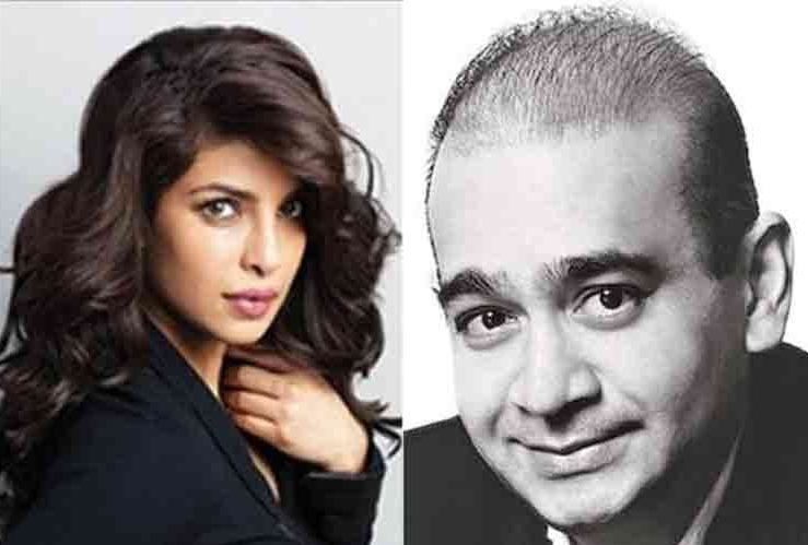 priyanka chopra send legal notice to nirav modi for frauding and nonpayment