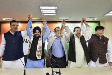 ajay makan told why arvinder singh lovely left congress