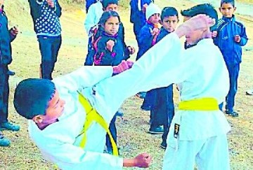 ncc Grounds fulfill with Karate players