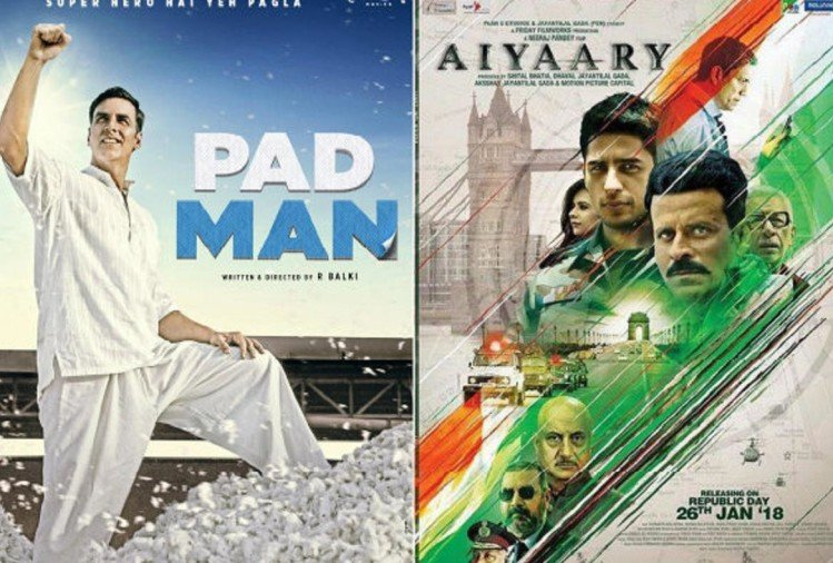 box office collection aiyaary and padman