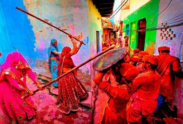 barsana lathmar holi 2018 date and celebration