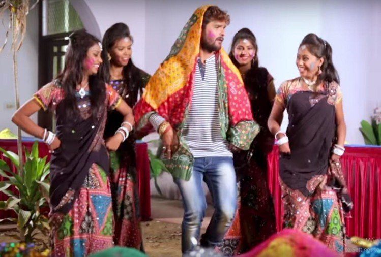 Photos of the new song 2020 bhojpuri holi khesari lal mp3