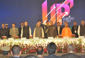 president Ramnath kovidn reached Lucknow to attend investor summit