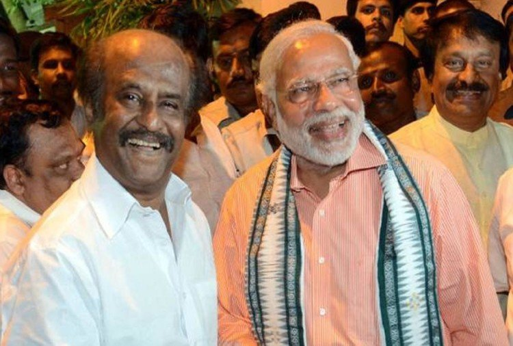 Rajnikanth+BJP